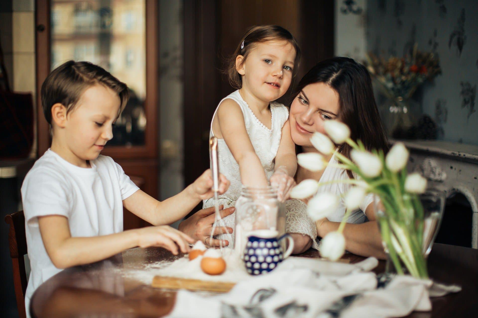 Beneficios del aceite de oliva para niños