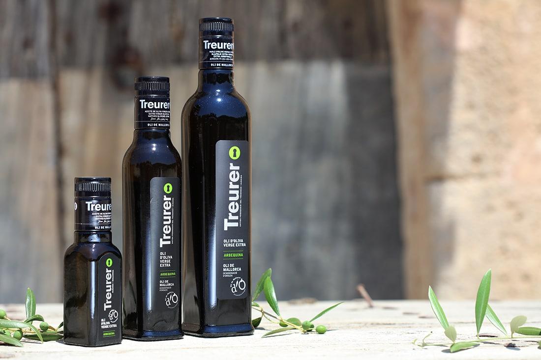 botellas de aceite treurer